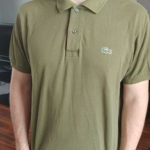 Lacoste Polo (Size 5) - Olive Green / Army Green